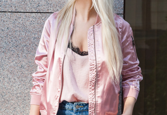 How to Style a Bomber Jacket | Love Of Queen