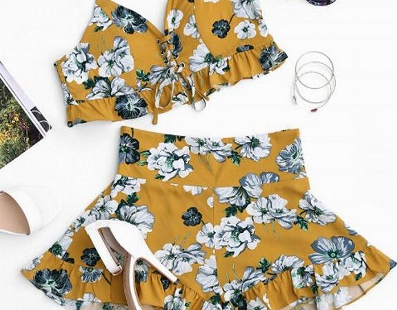 Two-Piece Outfits by Zaful