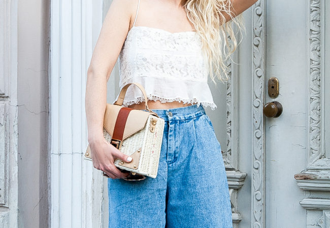 How to Style Denim Culottes